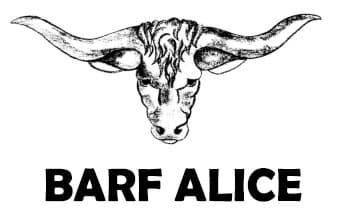 BARF ALICE – Biologisches Artgerechtes Rohes Futter Logo